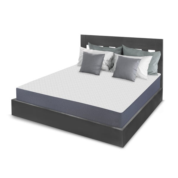 Swiss Lux Limited Edition Plush 10-inch King-size Memory Foam Mattress