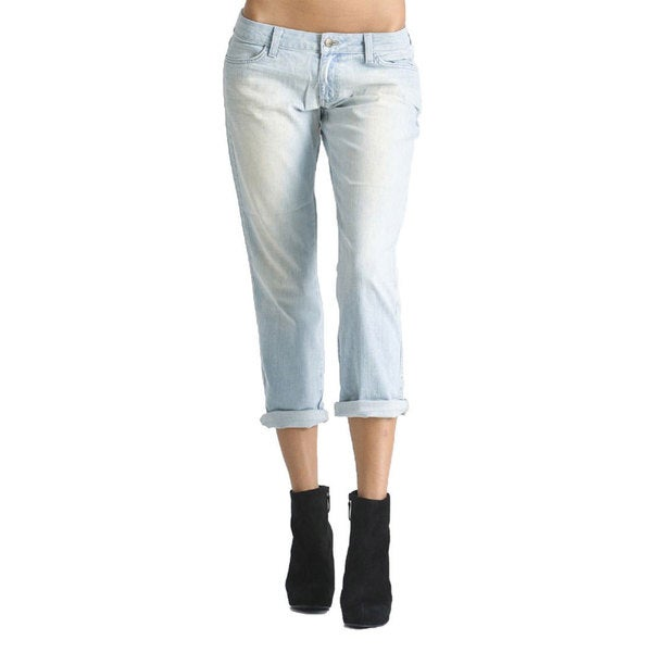 Women's Alice Relaxed Boyfriend Charm Wash Crop Jeans
