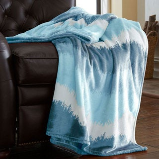 Oversized Luxury Ombre Throw