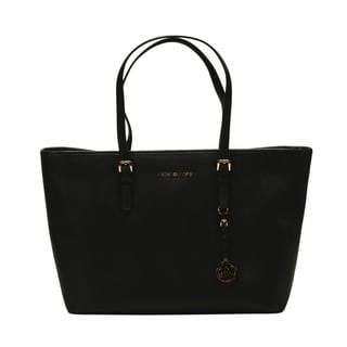 Michael Kors Jet Set Black Medium Tote Bag