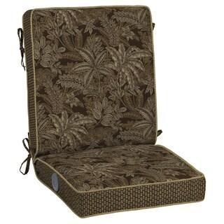 Bombay Outdoors Palmetto Espresso Adjustable Comfort Chair Cushion