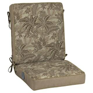 Bombay Outdoors Palmetto Mocha Adjustable Comfort Chair Cushion
