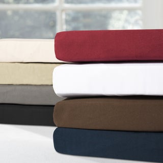 Exceptionally Soft Premium Luxury Double Brushed Microfiber Fitted Sheet