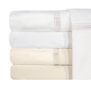 Grand Luxe Egyptian Cotton Payton 1200 Thread Count Pillowcases (Set of 2)