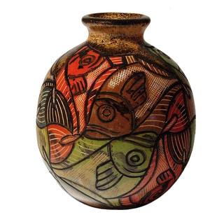 Esher Decorative Fish Vase (Nicaragua)