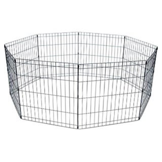 YML 8-panel Wire Pet Playpen