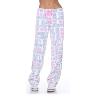 Stanzino Women's Sleepwear Lounge Soft Plush Pants