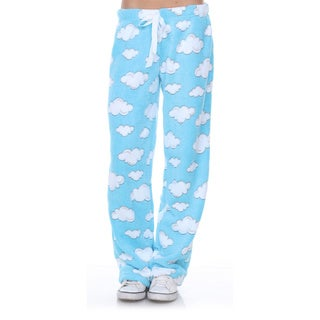 Stanzino Women's Sleepwear Blue Cloud Lounge Soft Plush Pants