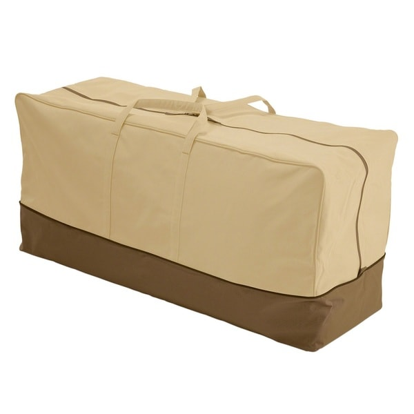 Classic Accessories Veranda Patio Cushion Bag Tan