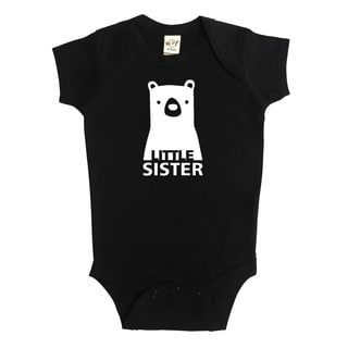 Rocket Bug Baby Little Sister Bear Bodysuit