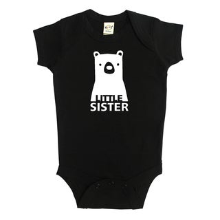 Rocket Bug Baby Little Sister Bear Bodysuit