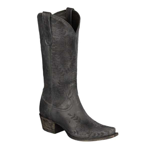 Lane Boots Ashlee Lace Women's Leather Cowboy Boot