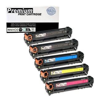 Compatible 5PK Canon 116 KKCYM Multi Color Toner Cartridge for Printers ImageClass MF8040 8050 8080