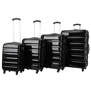 Triforce Midtown Collection 4-piece Hardside Spinner Luggage Set