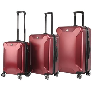 Triforce Oxford Collection 3-piece Hardside Spinner Luggage Set