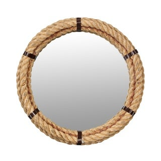 Porter Nantucket 24-inch Rope Frame Mirror (India)
