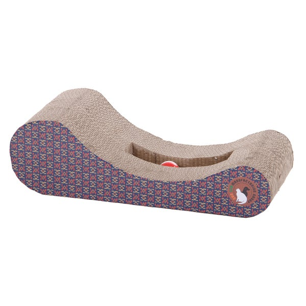 PetPals Lounge and Play Corrugated Scratcher
