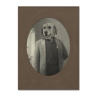 J Hovenstine Studios 'Dog Series #2' Canvas Wall Art