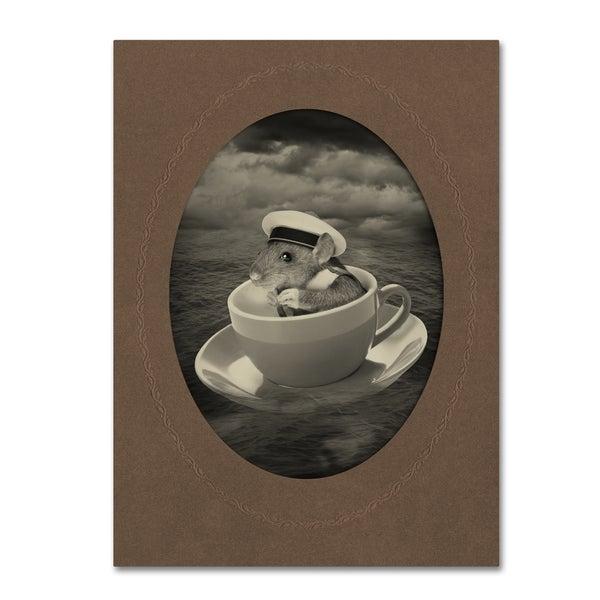 J Hovenstine Studios 'Mice Series #4' Canvas Wall Art 16816340