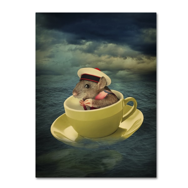 J Hovenstine Studios 'Mice Series #4.5' Canvas Wall Art - Multi 16816390