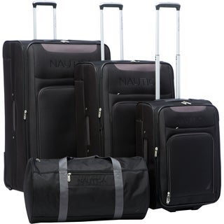 Nautica Bunnel 4-piece Expandable Rolling Luggage Set
