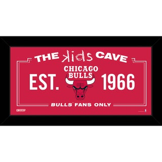 Steiner Sports NBA Chicago Bulls 6x12 Kids Cave Sign