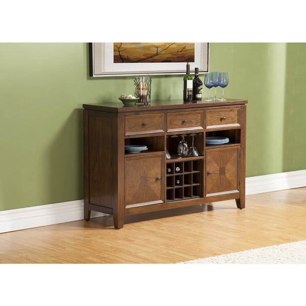 Somette Batavia Oak Server