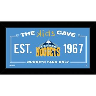 Steiner Sports NBA Denver Nuggets 6x12 Kids Cave Sign