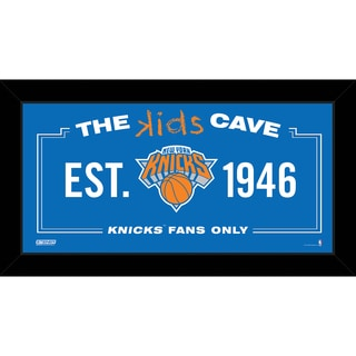 Steiner Sports NBA New York Knicks 6x12 Kids Cave Sign