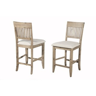 Somette Blue Island Counter-Height Chairs (Set of 2)