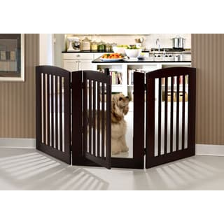 RuffLuv 3-panel Expansion Pet Gate with Door