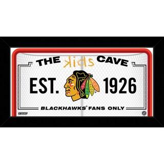 Steiner Sports NHL Chicago Blackhawks 6x12 Kids Cave Sign