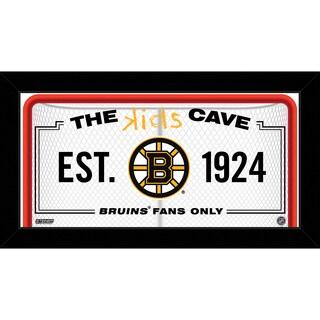 Steiner Sports NHL Boston Bruins 6x12 Kids Cave Sign