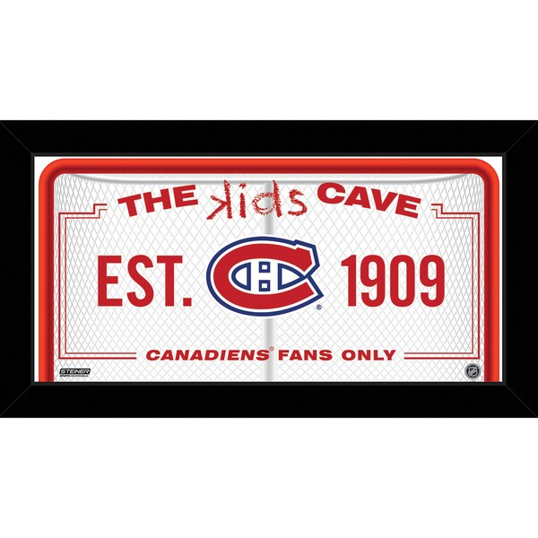 Steiner Sports NHL Montreal Canadiens 6x12 Kids Cave Sign