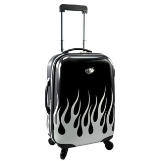 Bret Michaels by Traveler's Choice Road Tour 22-inch Expandable Carry-on Hardside Spinner Suitcase