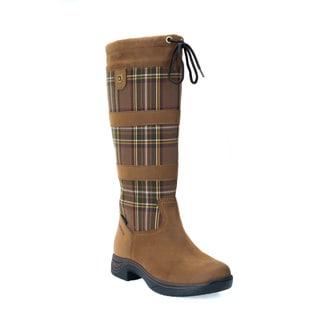 Dublin River Women's Plaid Boots