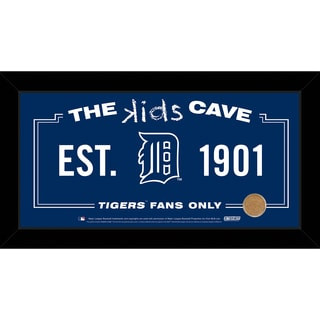 Steiner Sports MLB Detroit Tigers 10x20 Kids Cave Sign w/ Game Used Dirt from Comerica Park