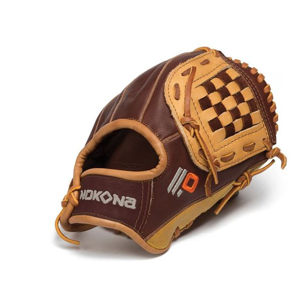 Nokona Alpha Select 9-Inch Leather Baseball Glove Closed Web