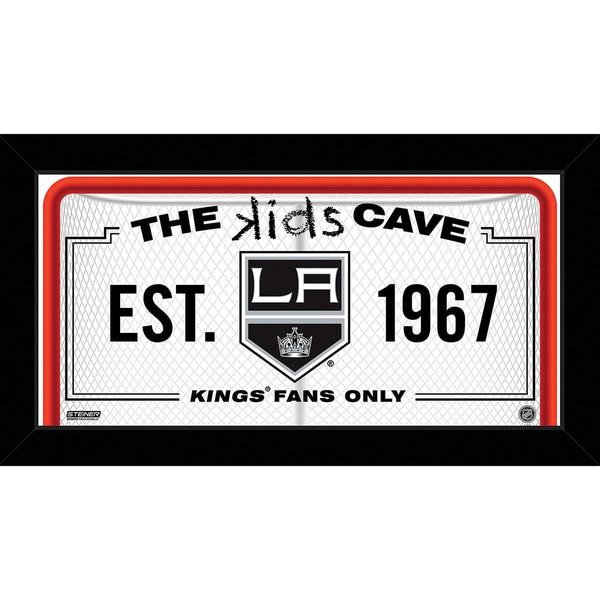 Steiner Sports NHL Los Angeles Kings 10x20 Kids Cave Sign