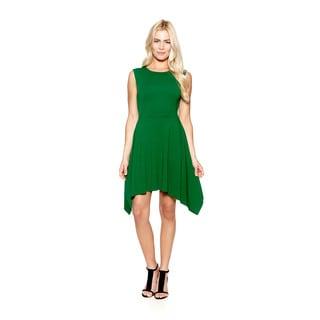 Bailey44 Women's Rafaella Sleeveless Dress with Handkerchief Hem