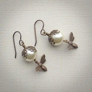 Busy Bee Dangle Earrings