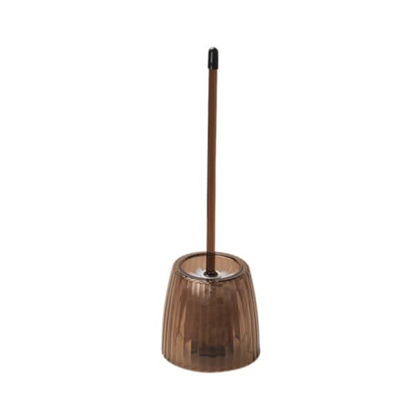 Carnation Home Fashions Rib-textured Bowl Brush Brown 16819541