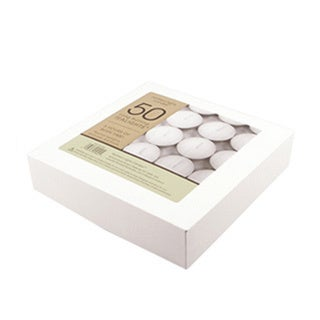 NLC Basic Accessories Tealight Candles (50 Pack)