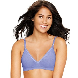 Hanes Ultimate Comfy Support ComfortFlex Fit Wirefree Bra