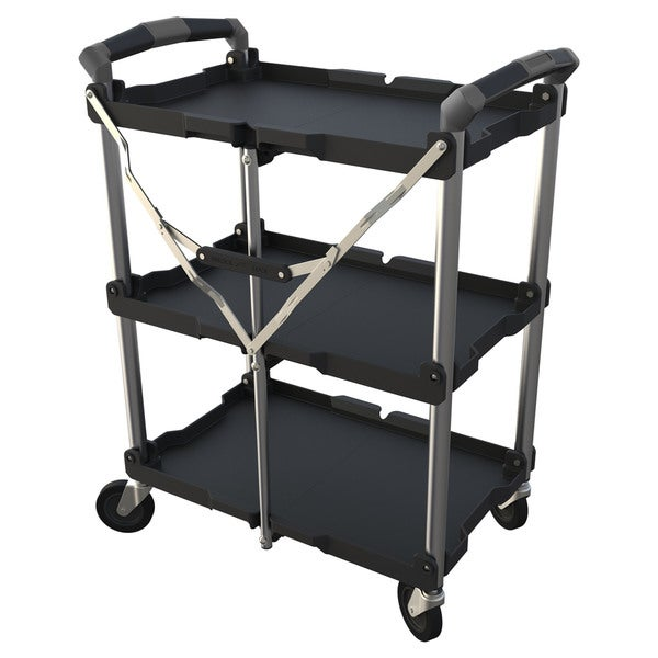 Tri-Trolley Collapsable Utility Cart
