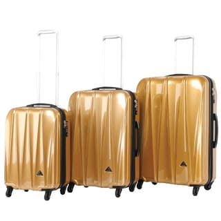 Triforce Trident Collection 3-piece Hardside Spinner Luggage Set