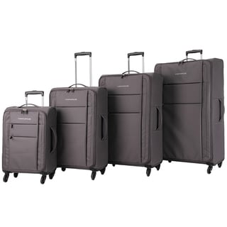 Triforce Aerea Collection Lightweight 4-piece Spinner Luggage Set