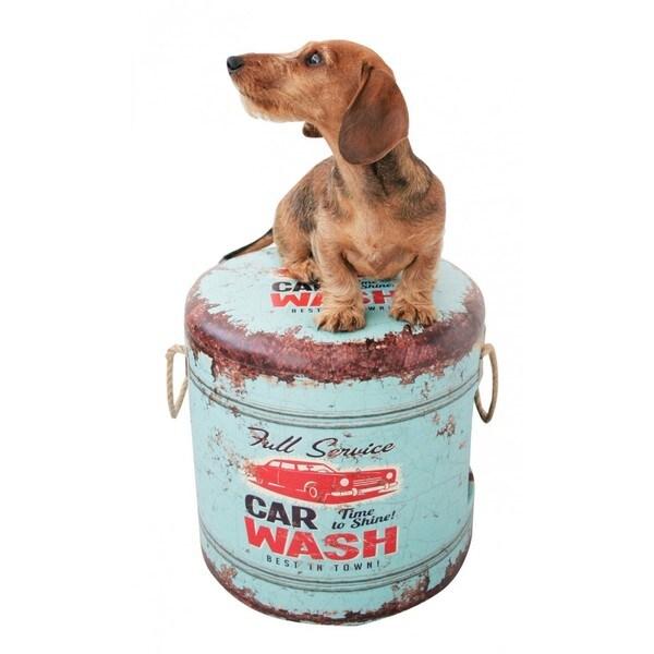 Pet Box Car Wash Ottoman