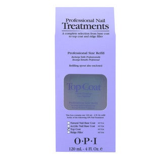 OPI 4-ounce Top Coat with Free OPI 0.5-ounce Top Coat Nail Polish