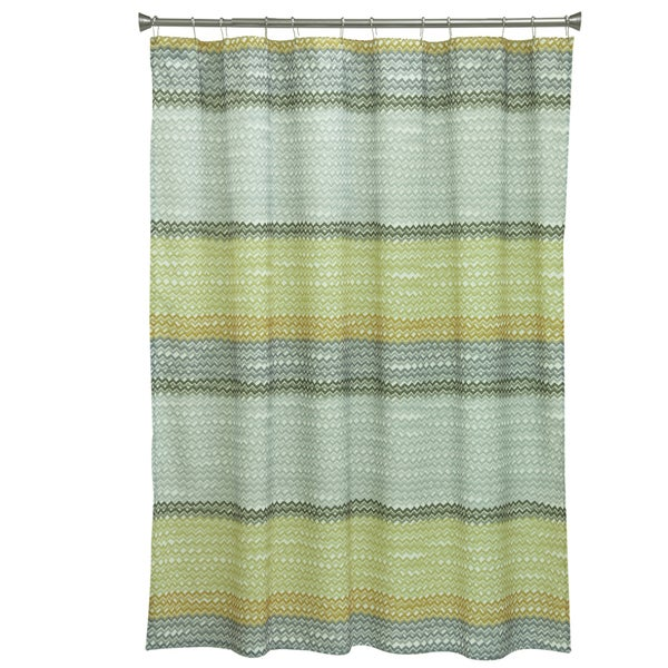 Rhythm Fabric Shower Curtain